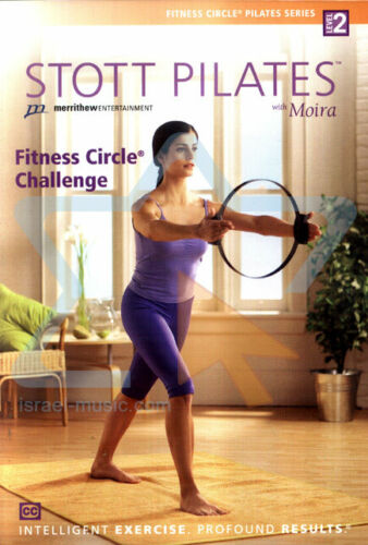 STOTT PILATES WITH MOIRA FITNESS CIRCLE CHALLENGE LEVEL 2 – DVD- R-ALL- LIKE NEW