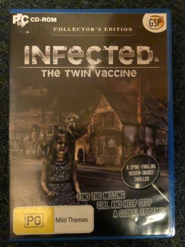 Infected The Twin Vaccine - PC CD-ROM Hidden Object Game