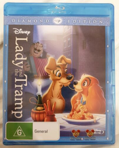 Lady And The Tramp Blu-ray Brand New Sealed
