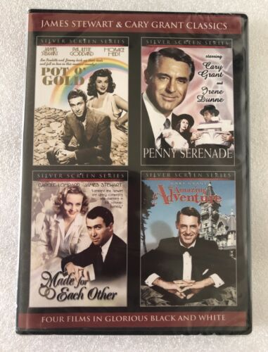 James Stewart and Cary Grant Classics DVD