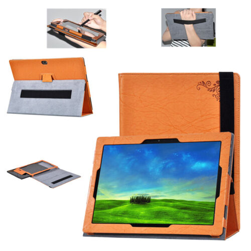 PU Leather Stand Flip Tablet Case Cover Skin For 12.0'' Lenovo Miix 4 Miix 700