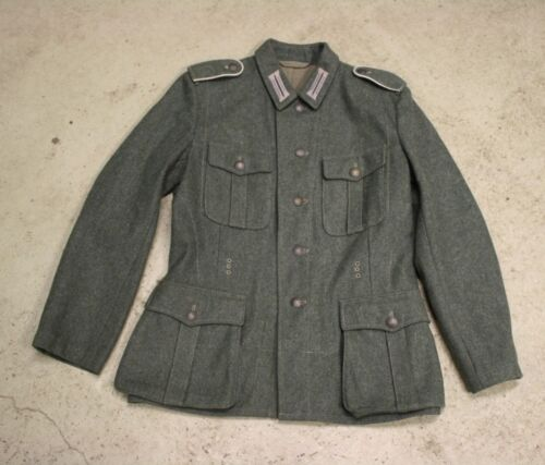 Movie Prop WW2 German M40 Tunic Size 38/40 Wehrmacht Eastern front Germany - 156432