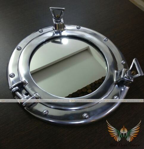 NAUTICAL COLLECTIBLE MARINE ALUMINIUM PORTHOLE VINTAGE CAPTAIN PIRATE WALL DECOR