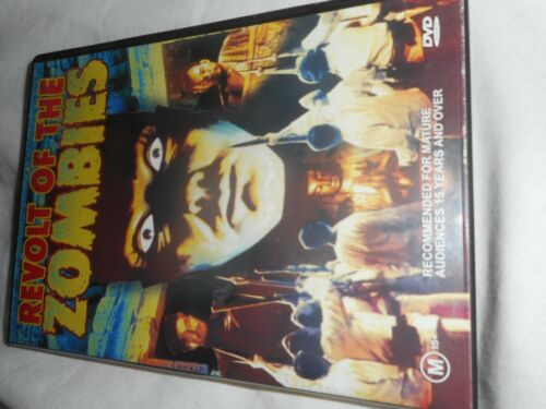 REVOLT OF THE ZOMBIES DVD