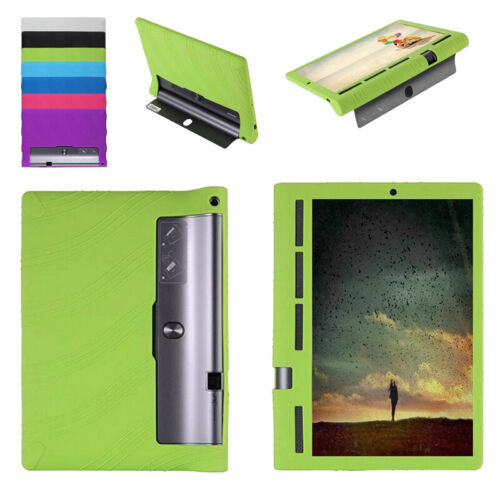 Tablet Cover Case For Lenovo Yoga Tab 3 Plus YT3-X703F/L 10.1'' Silicone Soft