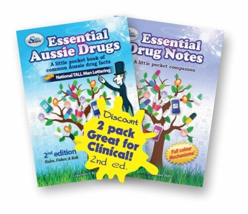 Essential Aussie Drugs - Clinical kit - 2 books (2nd ed.)