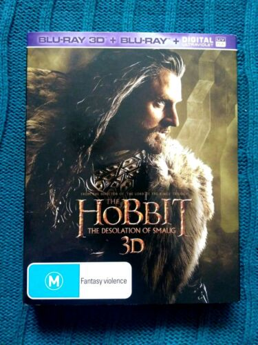 THE HOBBIT THE DESOLATION OF SMAUG – BLU-RAY 3D+BLU-RAY+ ULTRAVIOLET – 4-DISC BO