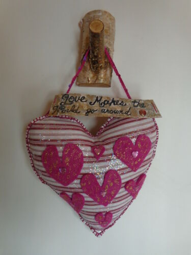 Primitive Birch/Valentine Heart Door/Wall Decoration Folk Art