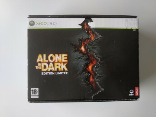 Coffret Collector Alone in the dark Xbox 360 FRancais complet