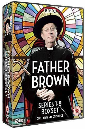 """FATHER BROWN COMPLETE SERIES 1-8 COLLECTION 26 DISCS DVD BOX SET R4 """"NEW&SEALED"""""""