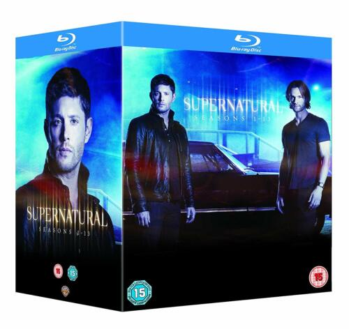 "SUPERNATURAL COMPLETE SEASON 1-13 COLLECTION BOX SET 47 DISC BLU-RAY RB ""NEW"""