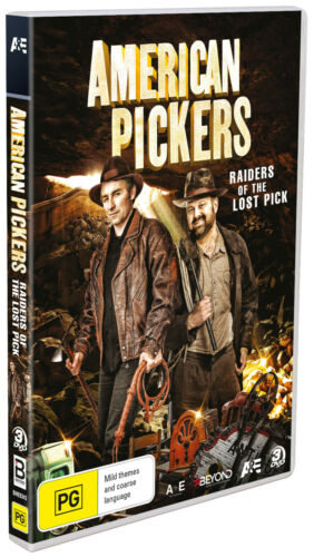 BRAND NEW American Pickers : Raiders of the Lost Pick (DVD, 2020) R4 Col 22