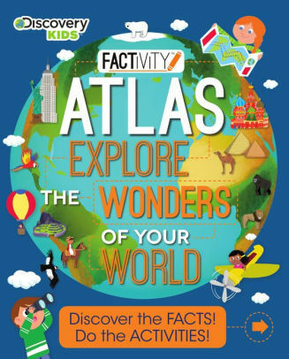 FACTivity Atlas Explore the Wonders of Your World Discovery Kids Paperback New
