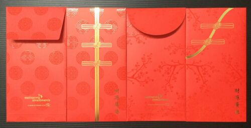 sgbay22  Red Packet - 2020 Eastspring Investments (4 pcs) quality paper
