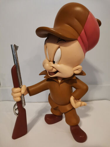 Looney Tunes Elmer Fudd Resin Statue - Extremely Rare!