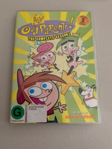 Nickelodeon The Fairly Odd Parents The Complete Season 1 TV Region 4 Dvd Rare