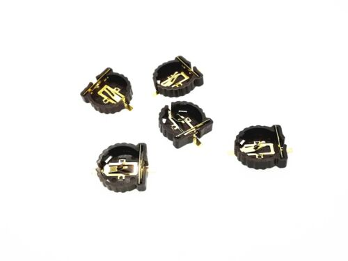 5x CR1220 Button/Coin Cell SMD Battery Socket Holder for CR1220 PCB SMD