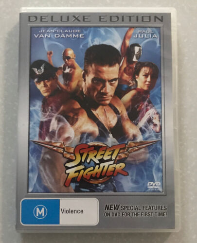 Street Fighter ~ Deluxe Edition DVD