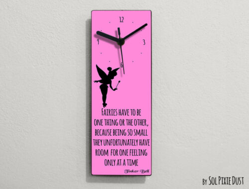 Tinker Bell Fairytale - Fairies have to be one thing or the ... - Wall Clock