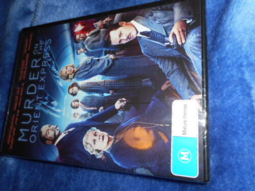 murder on the orient express dvd ,brand new sealed