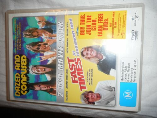 DAZED AND CONFUSED-FAST TIMES DVD SET