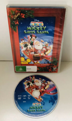 Disney Mickey Mouse Clubhouse - Mickey Saves Santa And Other Mouseketales