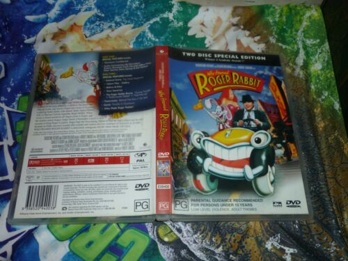 WHO FRAMED ROGER RABBIT - TWO DISC SPECIAL EDITION (DVD, PG) (153332 K)