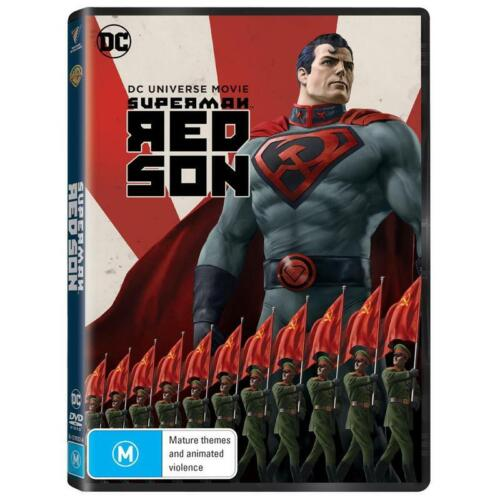 BRAND NEW Superman : Red Son (DVD, 2020) *PREORDER R4 DC Animated Movie