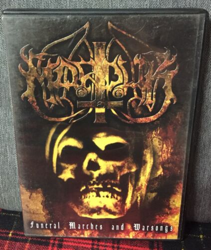 Marduck Funeral Marches And Warsongs DVD World Funeral 2003 Metal Come Foto N