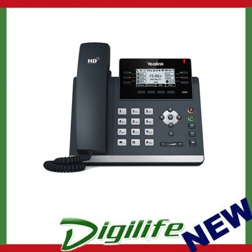 """Yealink T42S 12 Line IP phone, 2.7""""192x64 pixel graphical LCD with backlight"""