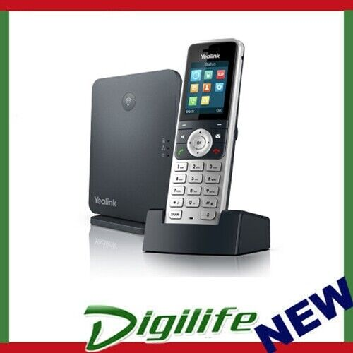 Yealink W53P Wireless DECT Solution including W60B Base Station and 1 W53H Hands