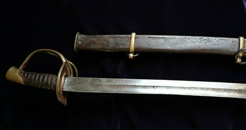 NAPOLEONIC FRENCH GRAND ARMEE OFFICER COUIRASSIER TROOPER CAVALRY SWORD CA 1810Original Period Items - 4070