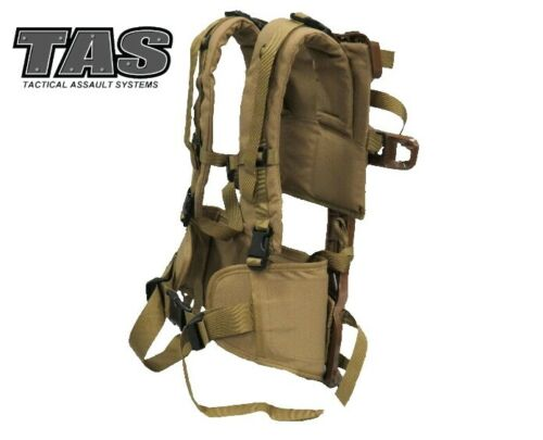 TAS ALICE COMPOSITE FRAME WITH YOKE HARNESS AND DELUXE HIP BELT COMBO CoyoteModern, Current - 36066