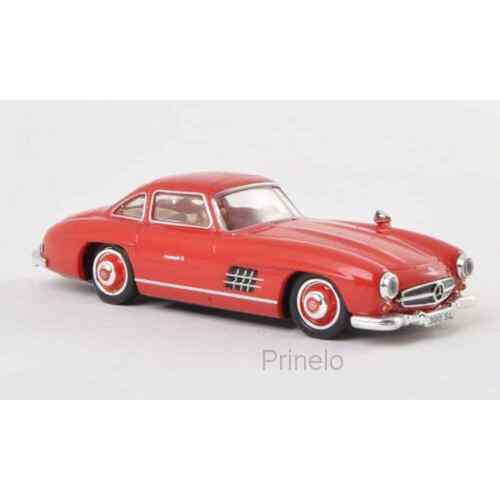 RICKO 38494 1/87 HO MERCEDES 300 SL W198 ROUGE 1954 VOITURE MINIATURE H0