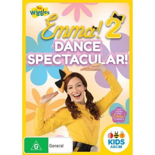 BRAND NEW The Wiggles : Emma 2 - Dance Spectacular (DVD, 2020) R4