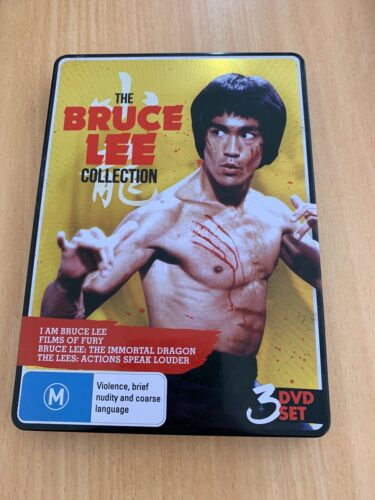The Bruce Lee Collection (DVD, 2013, 3-Disc Set) Brand New Region 4