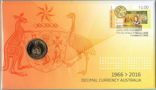 2016 UNC $1 CHANGEOVER DECIMAL CURRENCY PNC
