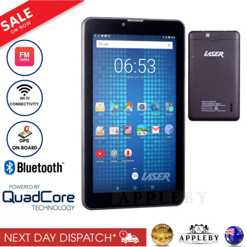 New Laser 7 inch Tablet Quad Core Android 7 8GB Wi-Fi Quad Core CPU