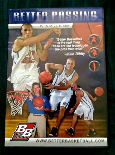 BB - BETTER PASSING WITH MIKE BIBBY- DVD- R-ALL- LIKE NEW-FREE POST IN AUSTRALIA