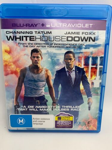 White House Down (Blu-ray, 2014)AS NEW- MINT DISC