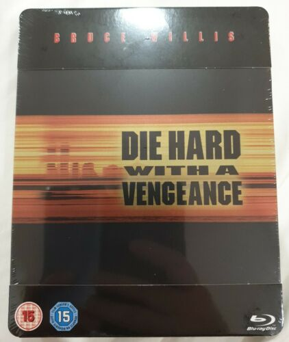 Die Hard With A Vengeance Blu-ray Steelbook Brand New Sealed
