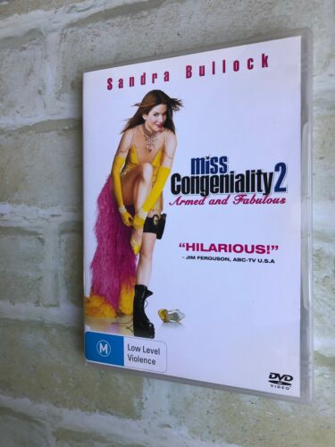 MISS CONGENIALITY 2 - Armed and Fabulous - REGION 4 PAL DVD