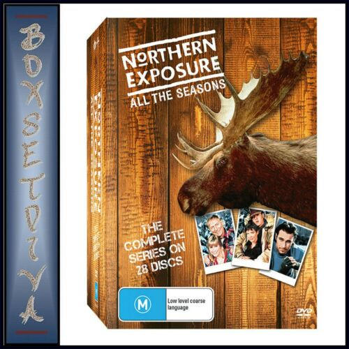 NORTHERN EXPOSURE SERIES COLLECTION (DVD, 28-DISC SET) BRAND NEW AU RELEASE