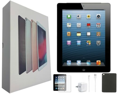 Apple iPad 3 Black, Wi-Fi Only, 32GB, 9.7-inch, Plus Bundle, and Free Shipping