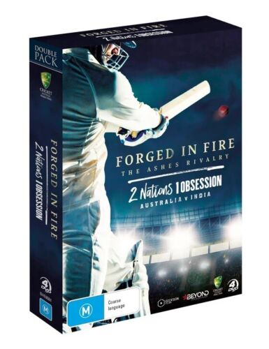BRAND NEW Forged In Fire / 2 Nations 1 Obsession (DVD, 4-Disc Set) Cricket Pack