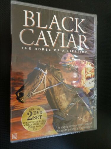 *New & Sealed* Black Caviar: The Horse Of A Lifetime (Deluxe 2 DVD Set) R4 AUS