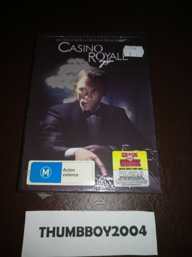 *NEW* James Bond - Casino Royale Collectors Edition 3 Disc DVD Box-Set w/Booklet