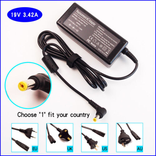 Laptop AC Power Adapter Charger for Delta Electronics SADP-65KB D