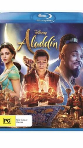 Aladdin Blu Ray Brand New