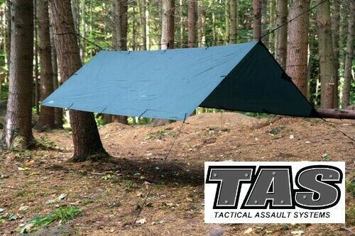 OLIVE HOOTCHIE SHELTER TENT CAMPING HIKING CADETS MILITARY ARMY GREEN HUTCHIEModern, Current - 36066
